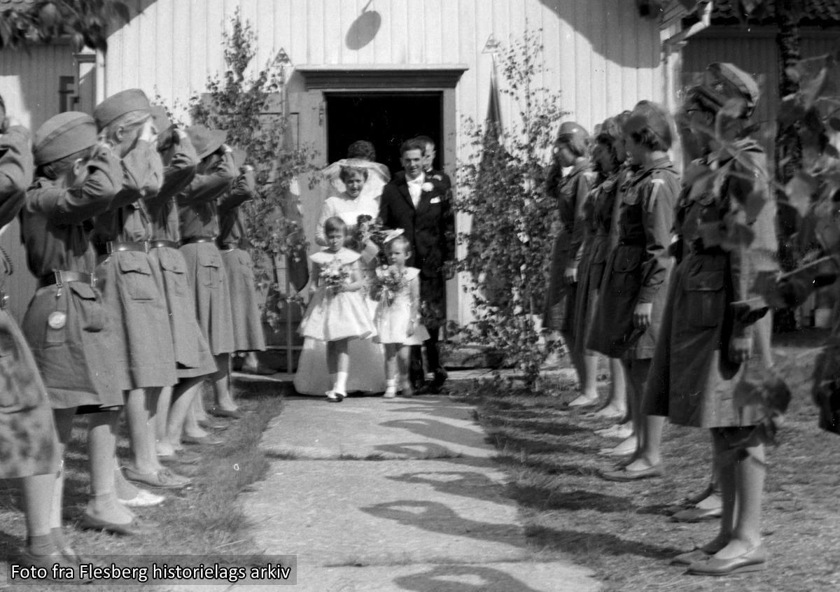Helga og Olav Dokkens bryllup